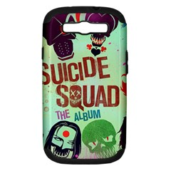 Panic! At The Disco Suicide Squad The Album Samsung Galaxy S Iii Hardshell Case (pc+silicone) by Onesevenart