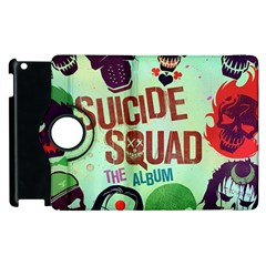 Panic! At The Disco Suicide Squad The Album Apple Ipad 2 Flip 360 Case by Onesevenart