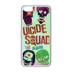 Panic! At The Disco Suicide Squad The Album Apple Iphone 5c Seamless Case (white) by Onesevenart
