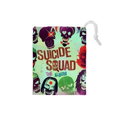 Panic! At The Disco Suicide Squad The Album Drawstring Pouches (small)  by Onesevenart