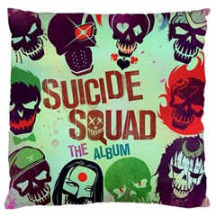Panic! At The Disco Suicide Squad The Album Large Flano Cushion Case (one Side) by Onesevenart