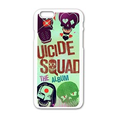 Panic! At The Disco Suicide Squad The Album Apple Iphone 6/6s White Enamel Case by Onesevenart