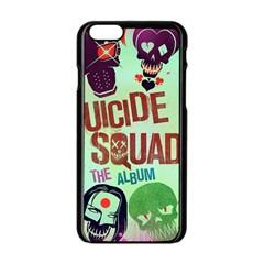 Panic! At The Disco Suicide Squad The Album Apple Iphone 6/6s Black Enamel Case by Onesevenart