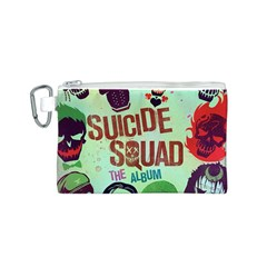Panic! At The Disco Suicide Squad The Album Canvas Cosmetic Bag (s) by Onesevenart