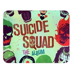 Panic! At The Disco Suicide Squad The Album Double Sided Flano Blanket (large)  by Onesevenart
