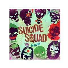 Panic! At The Disco Suicide Squad The Album Small Satin Scarf (square) by Onesevenart