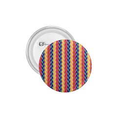 Colorful Chevron Retro Pattern 1 75  Buttons by DanaeStudio