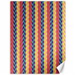 Colorful Chevron Retro Pattern Canvas 36  x 48