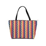 Colorful Chevron Retro Pattern Shoulder Handbags