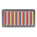 Colorful Chevron Retro Pattern Memory Card Reader (Mini)