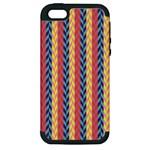 Colorful Chevron Retro Pattern Apple iPhone 5 Hardshell Case (PC+Silicone)