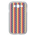 Colorful Chevron Retro Pattern Samsung Galaxy Grand DUOS I9082 Case (White)