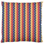 Colorful Chevron Retro Pattern Standard Flano Cushion Case (Two Sides)