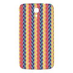 Colorful Chevron Retro Pattern Samsung Galaxy Mega I9200 Hardshell Back Case by DanaeStudio