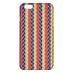 Colorful Chevron Retro Pattern iPhone 6 Plus/6S Plus TPU Case
