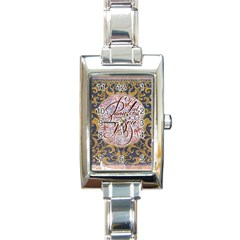 Panic! At The Disco Rectangle Italian Charm Watch by Onesevenart