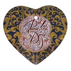 Panic! At The Disco Ornament (heart)  by Onesevenart