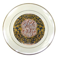 Panic! At The Disco Porcelain Plates by Onesevenart