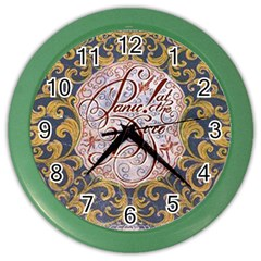 Panic! At The Disco Color Wall Clocks by Onesevenart