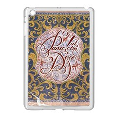 Panic! At The Disco Apple Ipad Mini Case (white) by Onesevenart