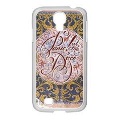 Panic! At The Disco Samsung Galaxy S4 I9500/ I9505 Case (white) by Onesevenart