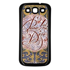 Panic! At The Disco Samsung Galaxy S3 Back Case (black) by Onesevenart