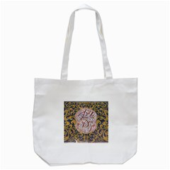 Panic! At The Disco Tote Bag (white) by Onesevenart