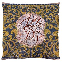 Panic! At The Disco Large Flano Cushion Case (two Sides) by Onesevenart
