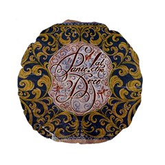Panic! At The Disco Standard 15  Premium Flano Round Cushions by Onesevenart