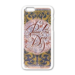 Panic! At The Disco Apple Iphone 6/6s White Enamel Case by Onesevenart