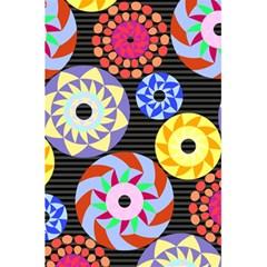 Colorful Retro Circular Pattern 5 5  X 8 5  Notebooks by DanaeStudio