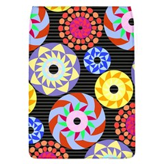 Colorful Retro Circular Pattern Flap Covers (l)  by DanaeStudio