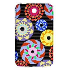 Colorful Retro Circular Pattern Samsung Galaxy Tab 3 (7 ) P3200 Hardshell Case  by DanaeStudio