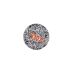 Paramore Is An American Rock Band 1  Mini Buttons by Onesevenart