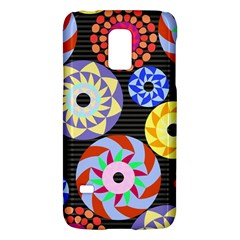 Colorful Retro Circular Pattern Galaxy S5 Mini by DanaeStudio
