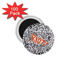 Paramore Is An American Rock Band 1 75  Magnets (100 Pack)  by Onesevenart