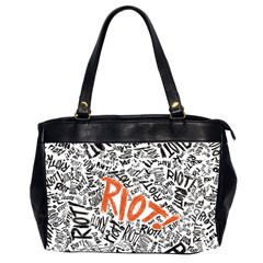 Paramore Is An American Rock Band Office Handbags (2 Sides)  by Onesevenart