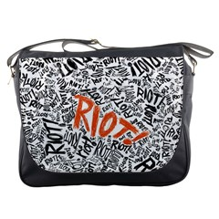 Paramore Is An American Rock Band Messenger Bags by Onesevenart
