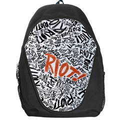 Paramore Is An American Rock Band Backpack Bag by Onesevenart