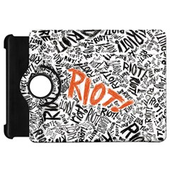 Paramore Is An American Rock Band Kindle Fire Hd Flip 360 Case by Onesevenart