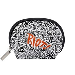 Paramore Is An American Rock Band Accessory Pouches (small)  by Onesevenart