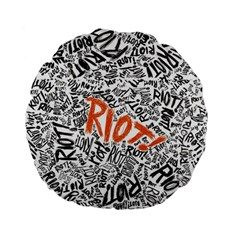 Paramore Is An American Rock Band Standard 15  Premium Flano Round Cushions by Onesevenart