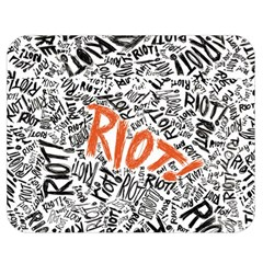Paramore Is An American Rock Band Double Sided Flano Blanket (medium)  by Onesevenart