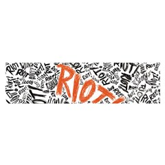 Paramore Is An American Rock Band Satin Scarf (oblong) by Onesevenart