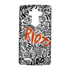 Paramore Is An American Rock Band Lg G4 Hardshell Case by Onesevenart