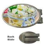 1 Kartoffelsalat Einmachglas 2 Money Clips (Oval)