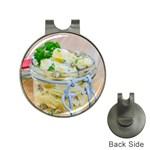 1 Kartoffelsalat Einmachglas 2 Hat Clips with Golf Markers
