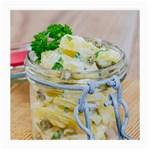 1 Kartoffelsalat Einmachglas 2 Medium Glasses Cloth (2-Side)