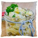 1 Kartoffelsalat Einmachglas 2 Large Cushion Case (Two Sides)