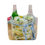 1 Kartoffelsalat Einmachglas 2 Full Print Recycle Bags (M)